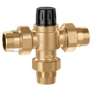 "CALEFFI GROUP THERMOSTATIC MIXING VALVES (1/2"" - 2"")"