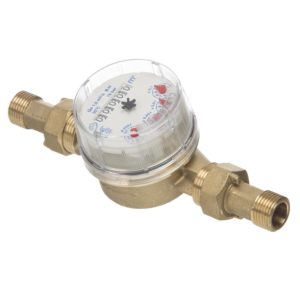 Cold Water Meter half inch three quarter inch