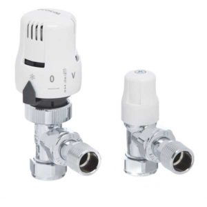 Ecocal Twin Packs Angled Radiator Valves