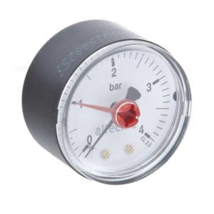 Altecnic Pressure Gauge 50mm Back