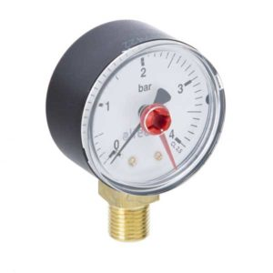 Altecnic Pressure Gauge 50mm Bottom