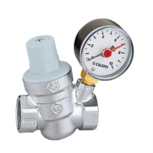 Caleffi Pressure Reducing Valve Gauge
