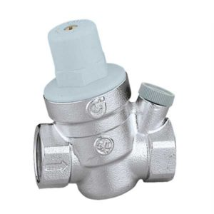 Caleffi Pressure Reducung Valve Gauge Connection