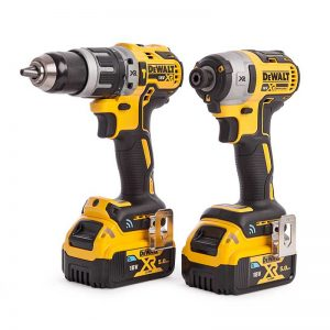 Dewalt DCK2500P2B Drills 2 Piece Kit