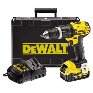 DCD985M2 18v XR Combi Drill with 2x4ah Batteries