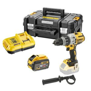 DCD996X1 18v XRP Brushless Combi Drill with 1x9ah FLEXVOLT Battery