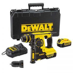 Dewalt DCH254M2 18V SDS+ Hammer Drill With Quick Change Chuck And 2X4AH Batteries