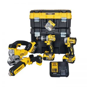 Dewalt DCK18001 4 Piece 18V Kit
