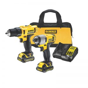Dewalt DCK211C2 10.8V Combo Kit With 2X1.3AH
