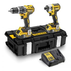 Dewalt DCK266P2 18V Brushless IA Combi Kit With 2X5AH Li-ion Batteries