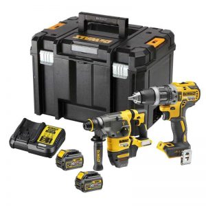 Dewalt DCK406T2DT 18V/54V Flexvolt SDS/Combi Kit With 2X6AH Batteries