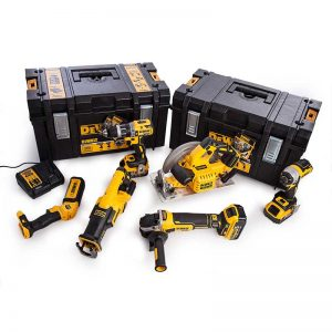 Dewalt DCK623P3 18V XR Brushless 6PC Kit With 3X5AH Batteries