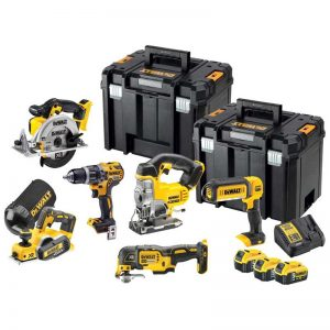 Dewalt DCK665P3T 18V XR 6 Piece Kit With 3X5AH Batteries