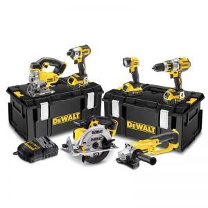 Dewalt DCK550M3T 18V XR 5 Piece Kit With 3X4AH Batteries