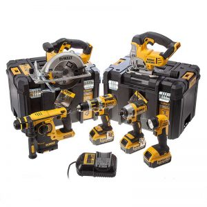 Dewalt DCK699M3T 18V 6 Piece Kit With 3X4AH Batteries