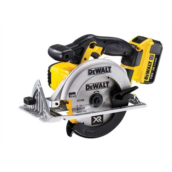 Dewalt DCS391M2 18V 165mm XR Circular Saw With 2X4AH Batteries
