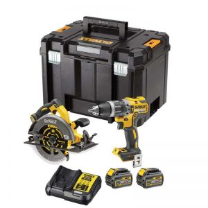 Dewalt DCS407T2 18V/54V Flexvolt Drill/Circular Saw With 2X6AH Batteries