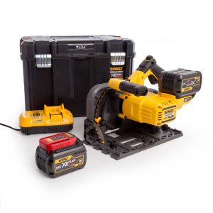 Dewalt DCS520T2 54V XR Flexvolt Plunge Saw With 2X6AH Batteries