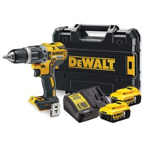 DEWALT DCD796P2 18v Brushless Combi-Drill with 2x5ah Li-ion Batteries