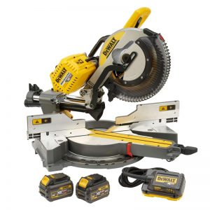 Dewalt DHS780T2 54V Flexvolt 12″ Mitre Saw 2X6AH Li-ion Batteries