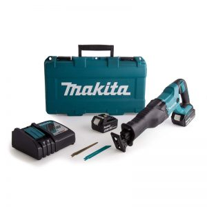 Makita DJR186RME 18V Recip Saw 2X4AH Li-ion Batteries