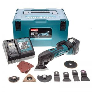 Makita DTM50RM1J3 18V LXT Multi-Tool With 30 Accessories And 1X4AH Battery