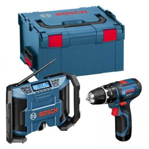 Bosch GSBGML108V GSB/GML 10.8V Twin Pack With 2X2AH Batteries