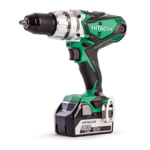 Hitachi Combi Drill with 2x5ah Li-ion Batteries