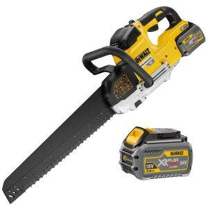 Dewalt DCS397T2 54V XR Flexholt Alligator Saw 2 X 6AH Batteries