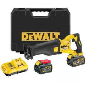 Dewalt DCS388T2 54V XR Flexvolt Reciprocating Saw 2 X 6AH Batteries