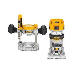 Dewalt – D26204K 240V 8MM Combination Plunge And Fixed Base Router