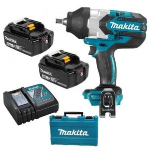 Makita DTW1002RTJ 18V 1/2″ Brushless Impact Wrench 2X5AH Batteries