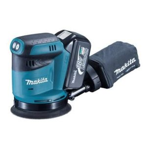 Makita DBO180RMJ 18V LXT Random Orbit Sander With 2X4AH Batteries