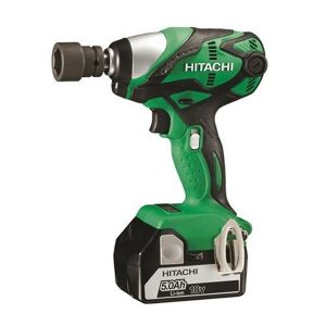 Hitachi WR18DSDL/JJ 18V Impact Wrench 2X5AH Li-ion Batteries