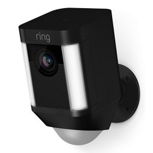 Ring Stick Up Cam Battery Black