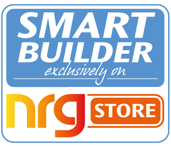 Smart Builder Exclusively on NRG Store Logo