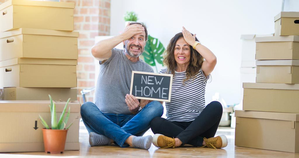 Couple stressed about moving to their new home