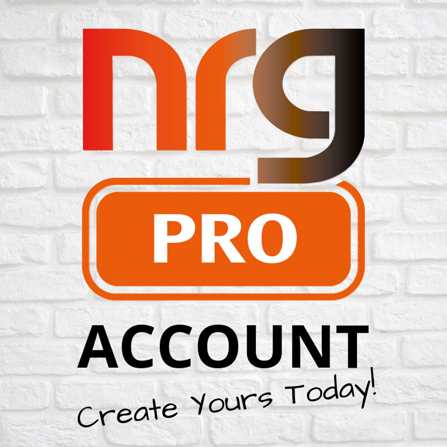 Open an NRG Pro Account today