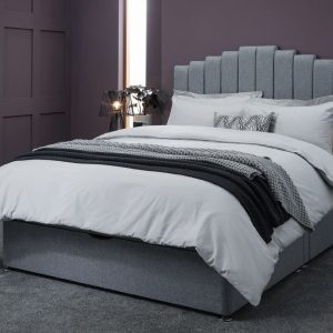 Quinn Serene Furnishings headboard upholstered bed