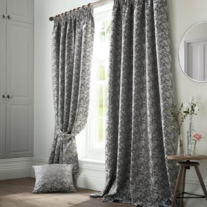 Bayford Grey Curtains