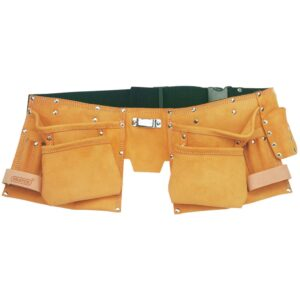 Draper Tools Double Leather Tool Belt Apricot 50 mm