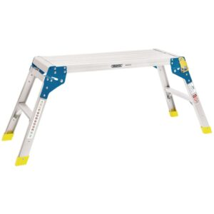 Draper Tools Aluminium Working Platform 2 Step 80x30x48 cm