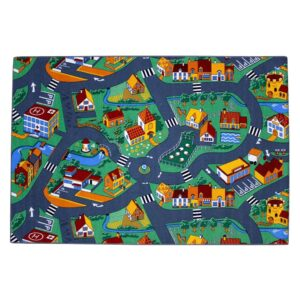 AK Sports Play Mat Village Street 140×200 cm 0309004