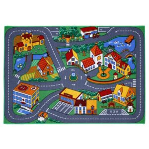 AK Sports Play Carpet Street Quiet Town 133 cm QUIET TOWN