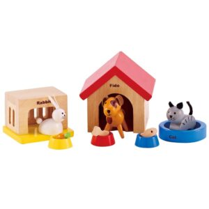 Hape Family Pets Toy E3455