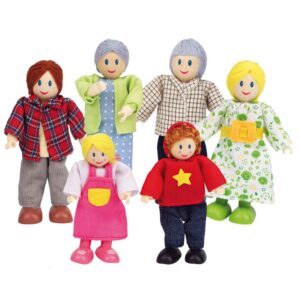 Hape Happy Family Dolls – Caucasian E3500
