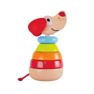 Hape Pepe Rainbow Stacker E0448