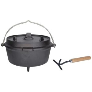 Esschert Design Dutch Oven 6.5 L Black FF235