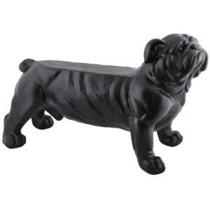 Esschert Design Garden Bench Bulldog Black AV14
