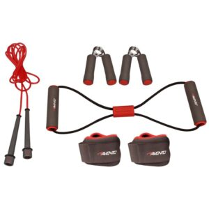 Avento Fitness Set Grey/Pink/Black 41VE